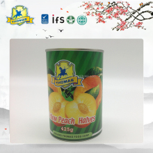 Chinese natural Sweet canning peaches syrup preserved fruits