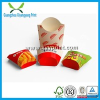 Custom Disposable Printed Kraft Paper Fast Food Packaging Box, Healthy Recycle Paper Take Away Box Packaging