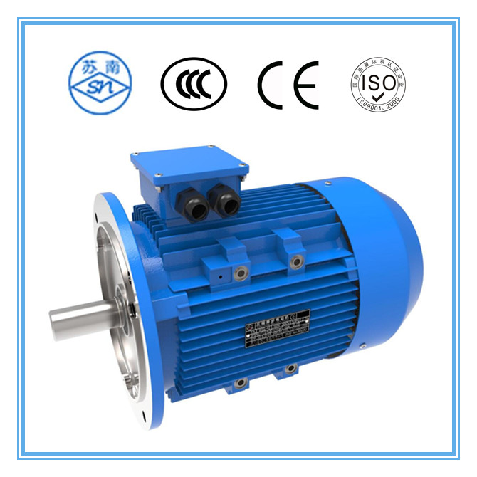 YE3 series 55kw motor with gear box for hydraulic system
