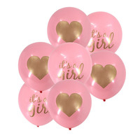 Free Shipping by DHL/FEDEX/SF Baby Boy Girl Birthday Party Angel Baby Shower latex Balloons
