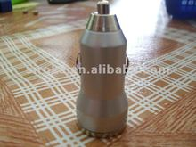 Electroplating Surface Mini Single USB Car Charger For Mobile Phone