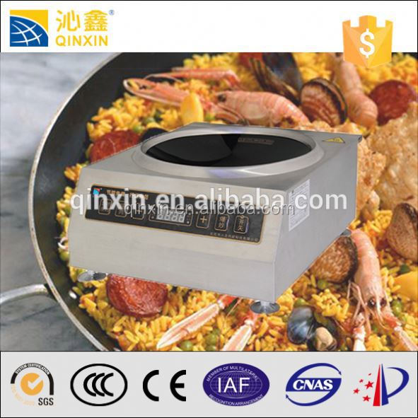 High power 3500w industrial electric rice cooker/ induction electric cookware set
