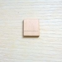 thin plate rectangle square laser cut wood
