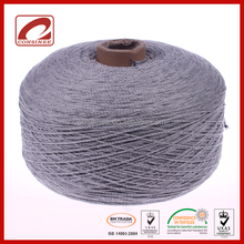 soft two side fabric melange yarn knit for leisure jacket