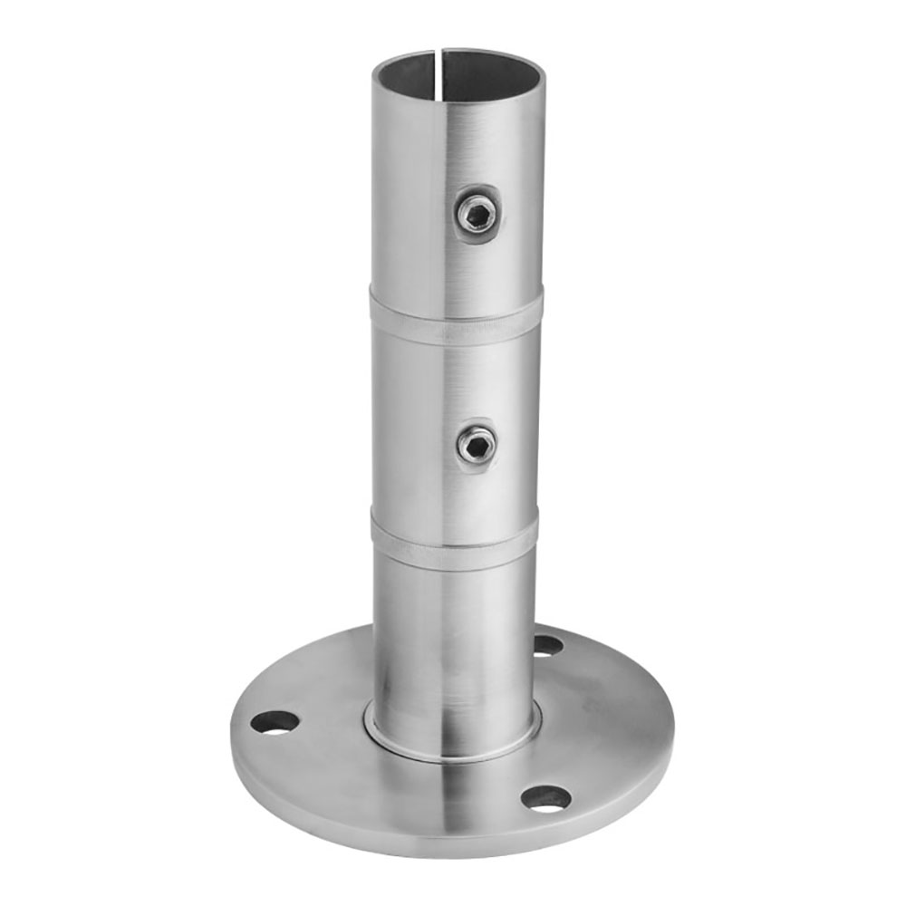 80mm Height Stainless Steel Base Flange for Handrail