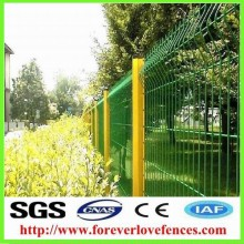 PVC coated welded wire mesh fence, bending wire mesh, chain link wire mesh fence