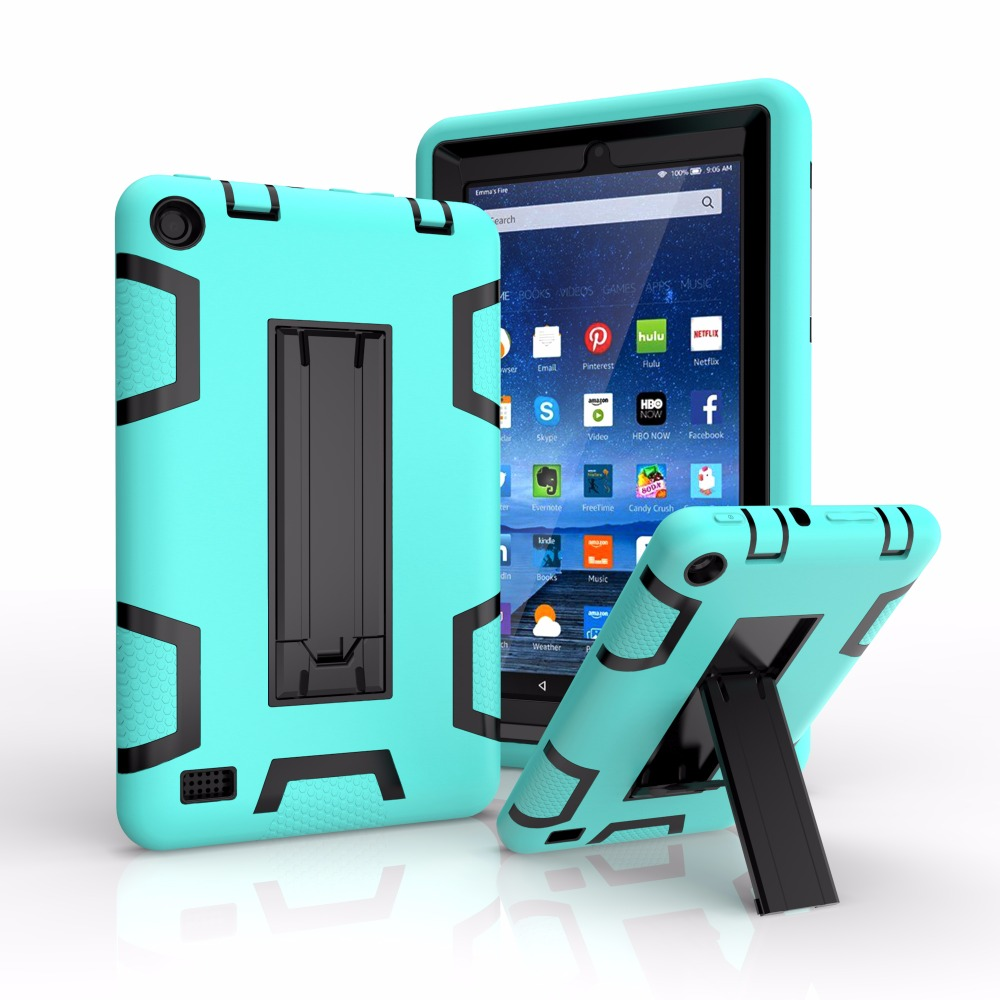 Rugged Silicone Case Cover For Amazon Kindle Fire 7 Inch Case