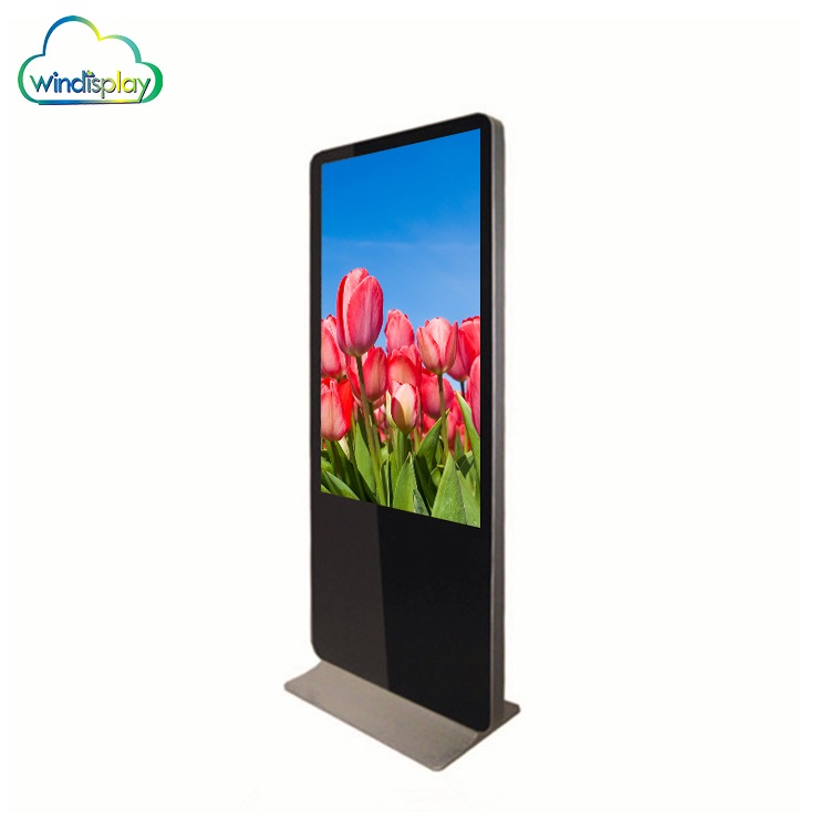 46 Inch Full Hd Touch Screen Vertical Digital Advertising Lcd Video Monitor