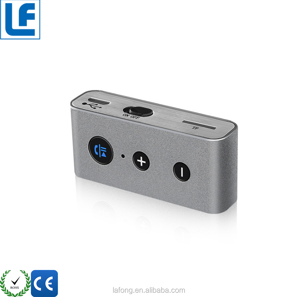 2017 Hot Selling 3.5mm Mini Blue tooth Wireless Audio,Car Mp3 Fm Modulator,Receiver Fm Bluethooth Transmitter