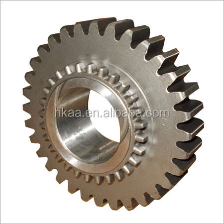 High torque CNC machined carbon steel engine planetary ring gear