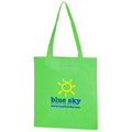 Wholesale custom printed non woven economy tote bag