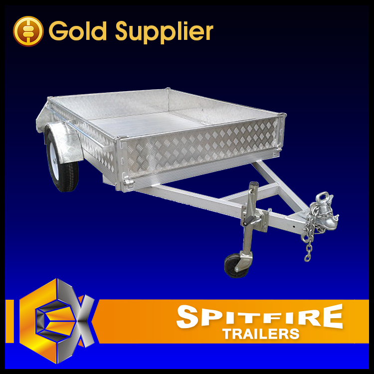 Customized Single Axle Small Box Trailer