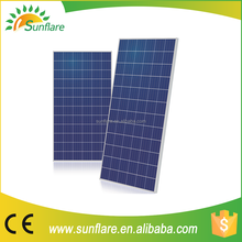China supplier low price310w poly sunpower solar panel price per watt