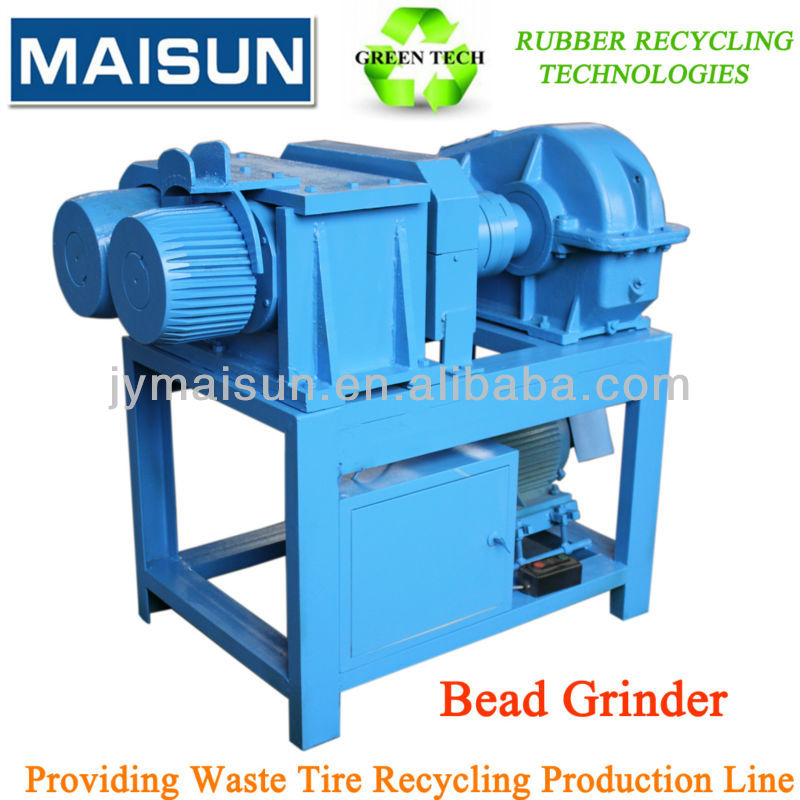 waste tire/tyre wire drawing machine