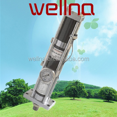 Series ISO 15552 Standard High Quality wellna WNKH hydropneumatic cylinder aluminium cylinder Pneumatic Cylinder