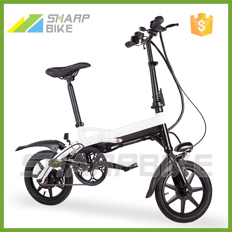 2015 Hot sell 250w 36v green energy adult fold electric bicycle made in China