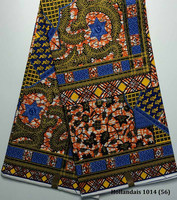 First class quality african traditional wax printed fabric for clothes Hollandais 1014(56)