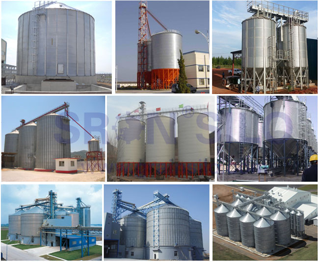 Reasonable Grain Silos Prices for Conical/Hopper Grain Silo Storage