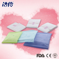 cotton top sheet anion mini sanitary pad for lady