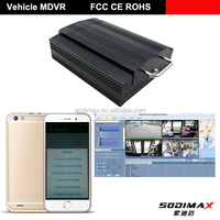 Factory mobile HDD Mobile DVR/MDVR with GPS +3G+WIFI+UPS