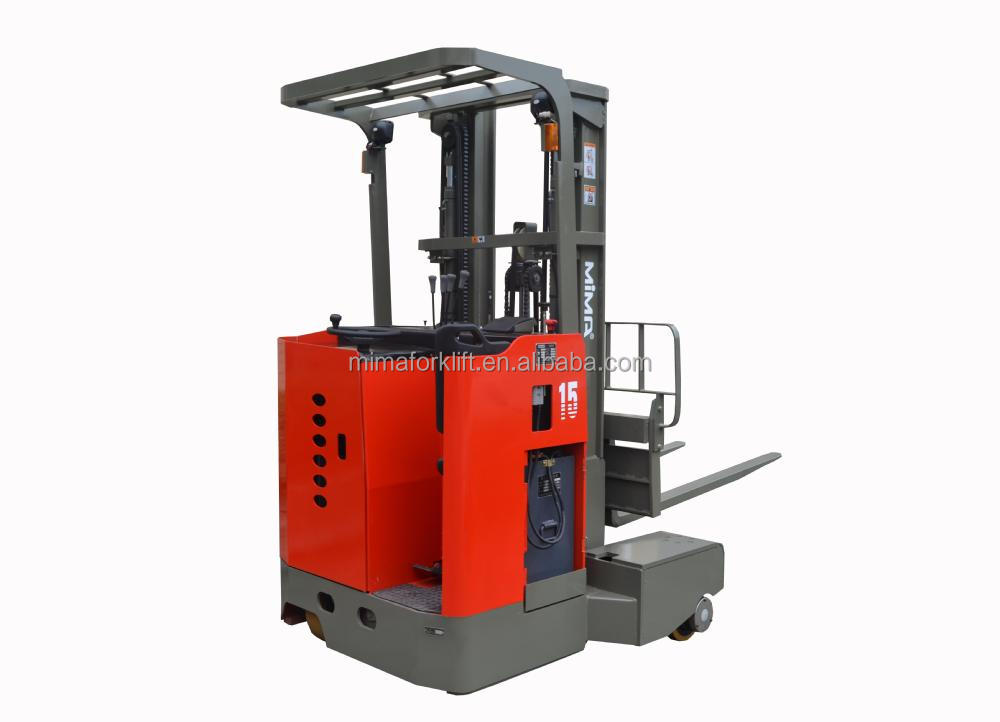 LED light TFB 2.5 ton new narrow four direction reach truck for sale