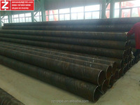 ERW and Spiral welded steel pipes manufacturer and exporter