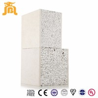 Modern Prefabricated House Light Weight High Strength Acid Alkali Resistance Foam Cement Wall Panels