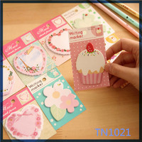 china supplie factory price colored paper heart shaped schhol supply cute cheap round sticky note