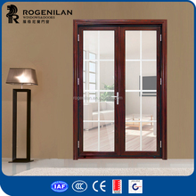 ROGENILAN 75 series cheap aluminium balcony french doors