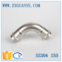 Stainless Steel 90 Degree Equal Press Elbow