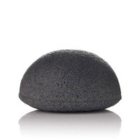 Pure All Natural Green Charcoal French Pink Clay Konjac Sponge For Baby Bath Facial Cleaning