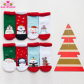 Wholesale cheap high-quality cotton baby gifts snowflake deer ugly christmas non slip floor socks