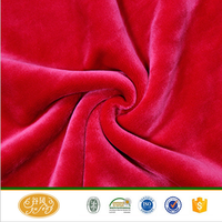 factory custom super soft fleece fabric for thermal underwear/lining fabric