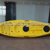 Customized Roto Molded Plastic Kayak Rotomolding