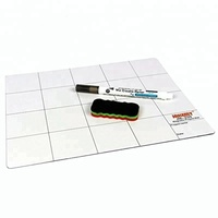 JM-Z09 Magnetic Project Mat Screw Work Pad with Marker Pen Eraser