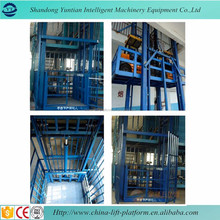 Electric warehouse elevator lift hydraulic goods lift cargo lift for sale