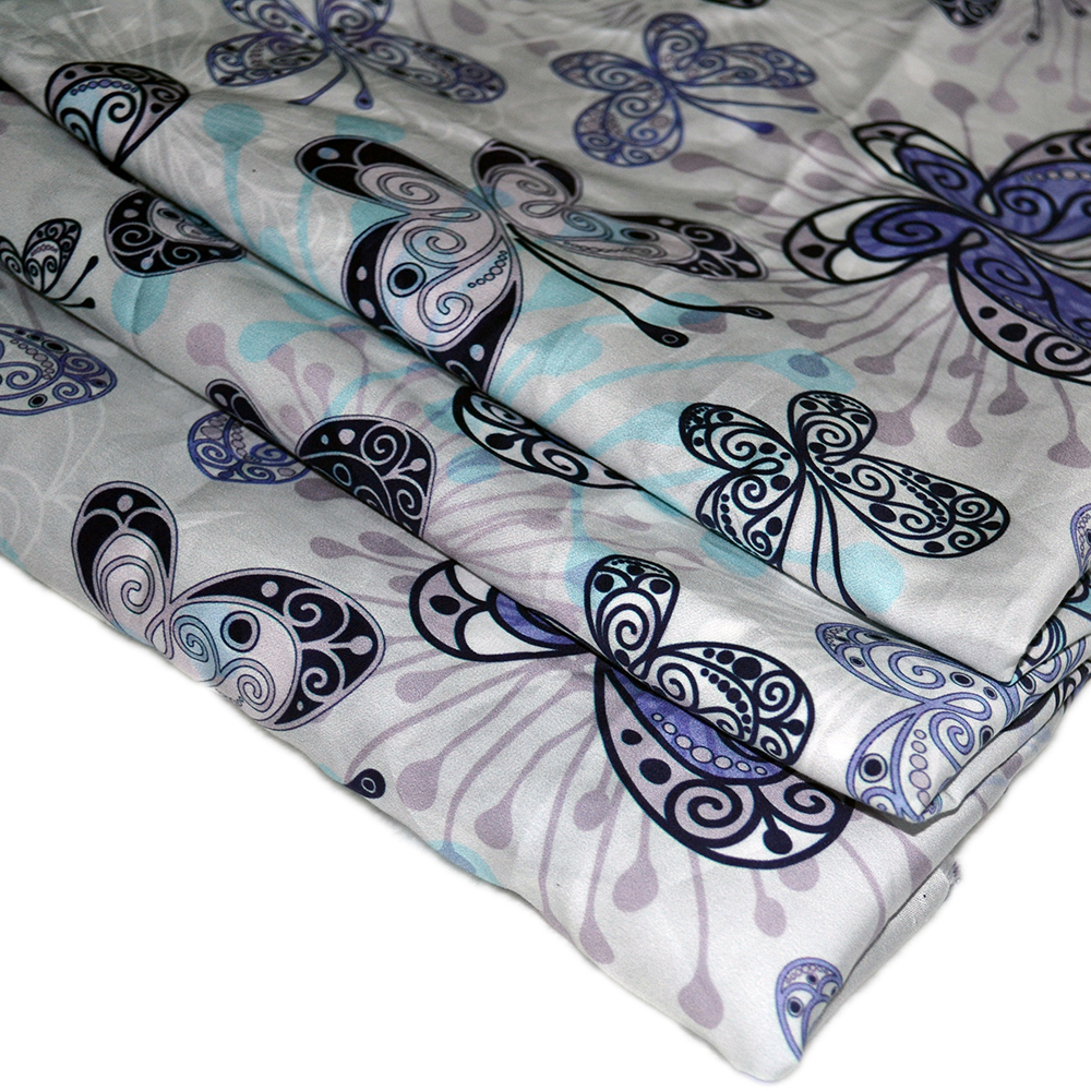 digital printing customized 100% cotton poplin flower fabric for girl dresses