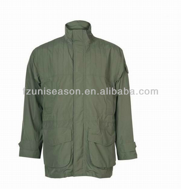Hunting clothing wholesale green hunting jacket for men