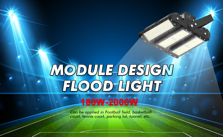 Powerful wireless floodlight camera