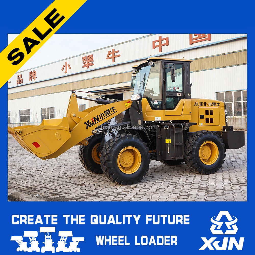 Agriculture machine 1.8ton mini wheel loader ZL30 for sale