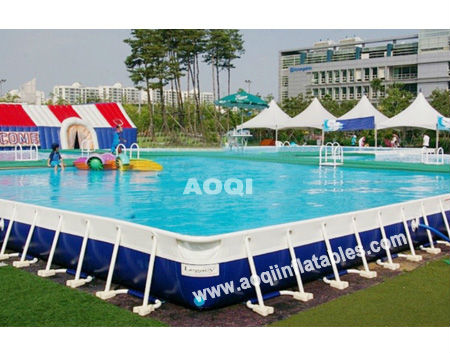 Hot Metal Frame Swimming Pool