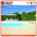 Most popular products china Beige Stone home swimming pool tile