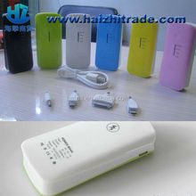 2600mah power bank for handphone, HZ-YZ2 Promotional gift 2014 new smart portable charger power bank
