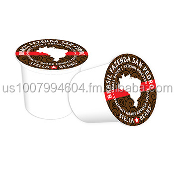 Made in USA, K-Cup Aluminum Foil Lids, 4 Color Printed, Embossed & Die Cut