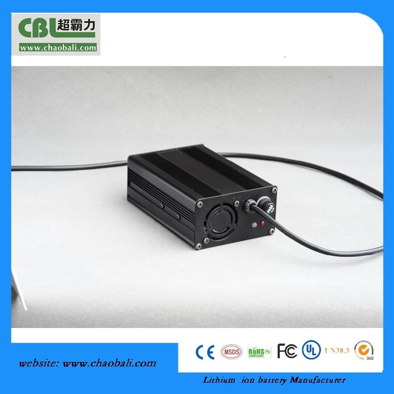 10 Series 42V Charger 2A 36V Lithium Battery Charger for E-bike, Electric Bicylce, Power tool