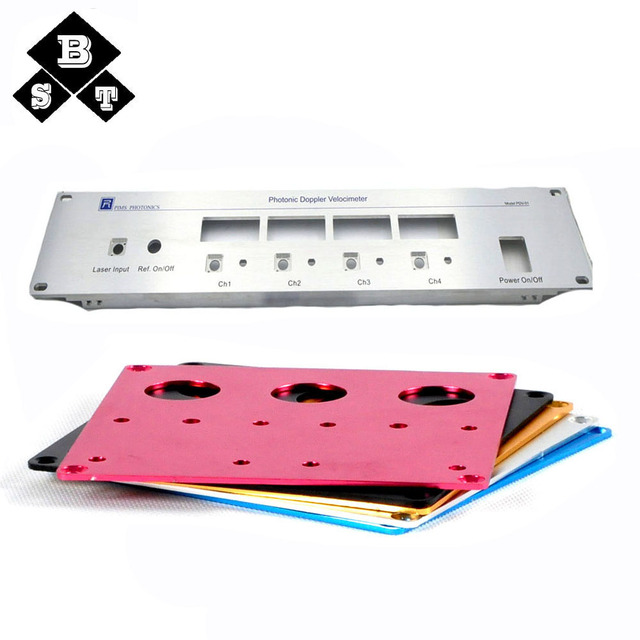 CNC Amplifier Front Panel, Aluminum Face Plate,Aluminum Front Panel