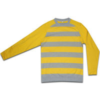 Roll neck sweater cheap, thailand quality men sweaters yellow gray, long sleeve sweaters wholesale supplier guangzhou