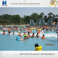 relaxing wave pool equipment