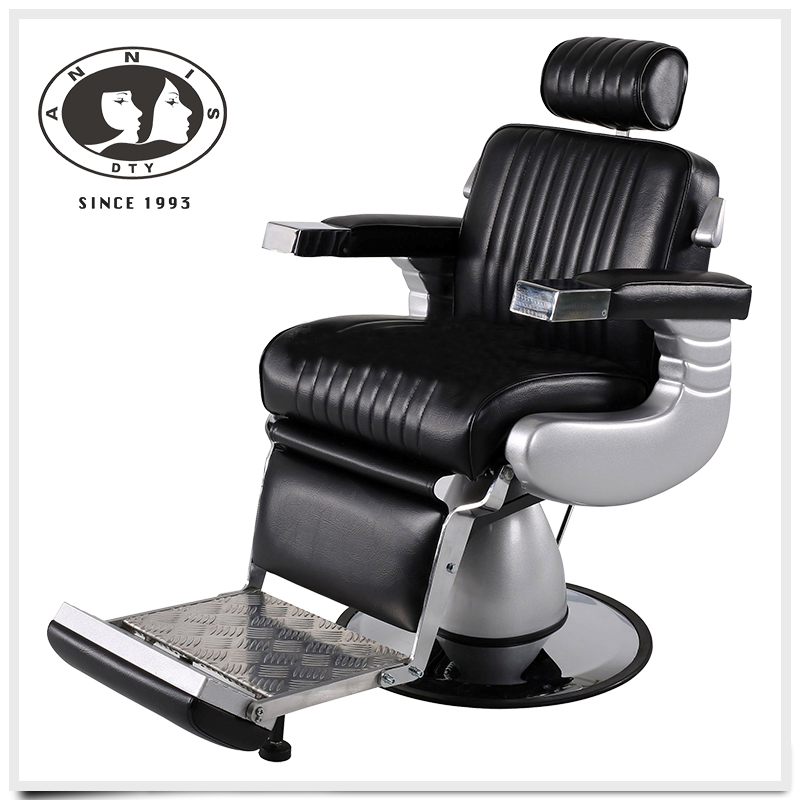 Wholesale quality guarantee hair salon products comfortable seats barber chairs antique