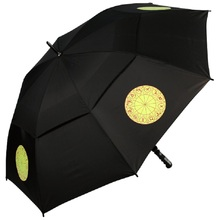 advertising outdoor fan umbrella with UV protection